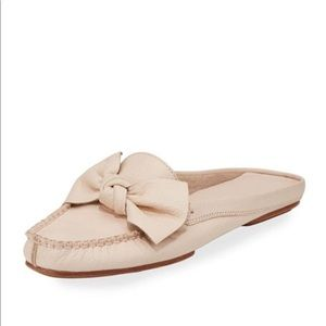 kate spade new york mallory bow flat mule loafer